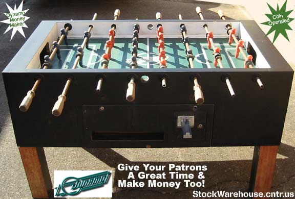 A Genuine Dynamo Foosball Table At A Bargain Price !