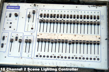 Built in bump buttons on all channels. Built in 6 channel group chasing.  sc 1 st  StockWarehouse.cntr.us & StockWarehouse.cntr.us - Leprecon LP-505 18 channel 2 Scene ... azcodes.com