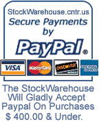 Paypal allows you to use Bank Account Or Major Credit Card Keeping Information Safe & Secure.